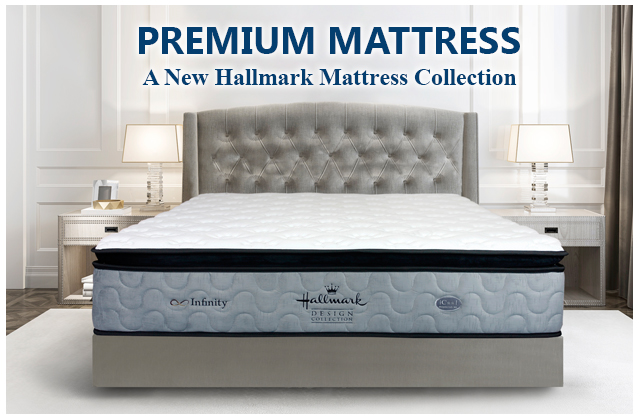 Hallmark Premium Mattress comes with 10 years warranty and now 50% off