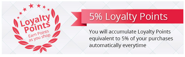 Accumulate loyalty points equivalent to 5% of your Hallmark bed & bath products purchase