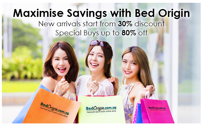 Maximize savings when you purchase Hallmark bedding products from BedOrigin.com.my